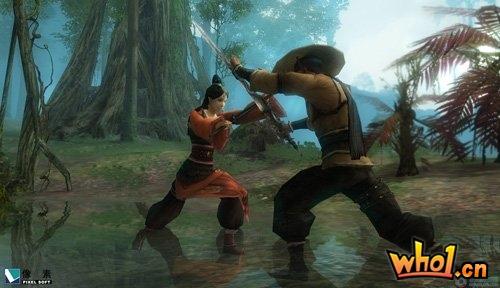 《刀剑贰》首张游戏截图放出 支持拼刀