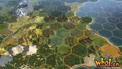 《文明5》正式宣布 使用全新游戏引擎