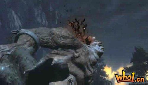 《战神3》最新视频 大量试玩画面公布