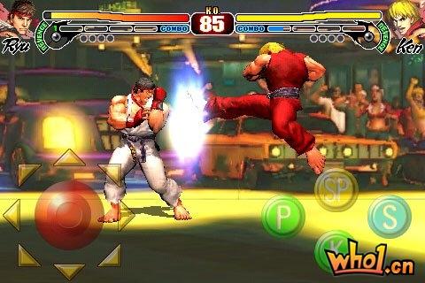 《街头霸王4》iPhone版将于3月发售