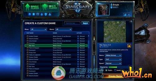暴雪再次声明:星际2战网足以取代局域网