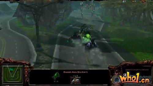 视频:网友自制星际争霸II赛车游戏