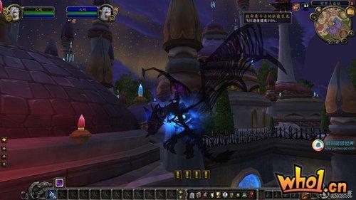 WLK升级补丁泄漏 玩家成功登陆曝光游戏截图